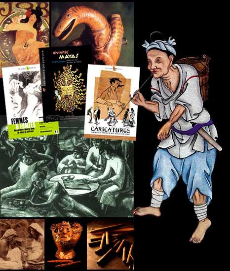 Caricature du Fumeur du XVIIème siècle à nos Jours dans EXPOSITIONS cafe